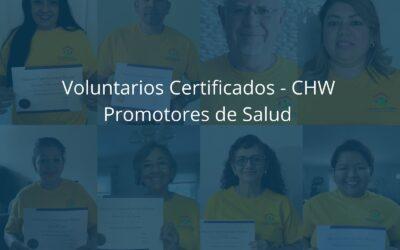 Voluntarios Certificados – CHW (Promotores de Salud)