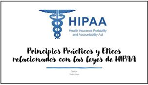 Entrenamiento sobre HIPAA  (Promotores De Salud – CHWs)